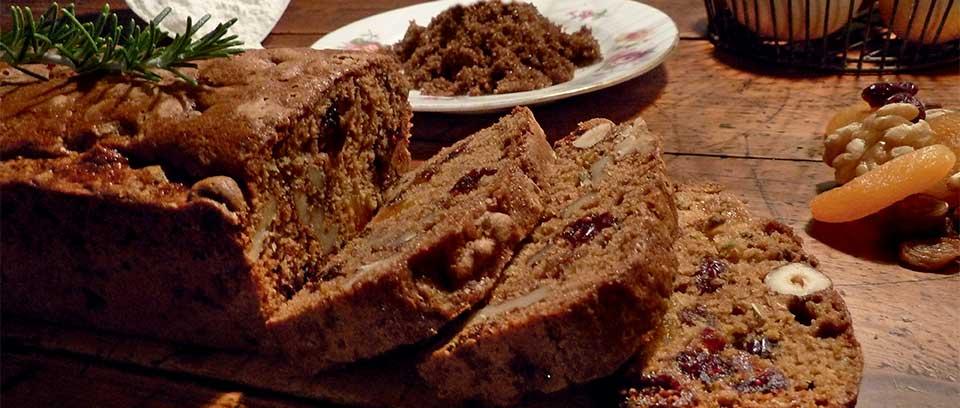 Cake au romarin