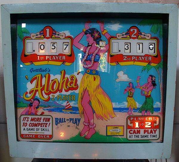 Flipper Aloha Gottlieb