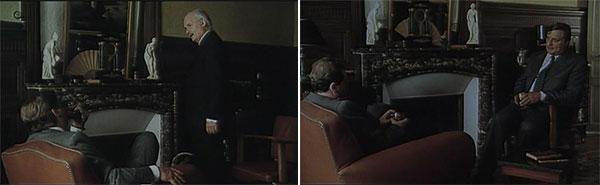 Maigret reprend un cognac devant cheminée