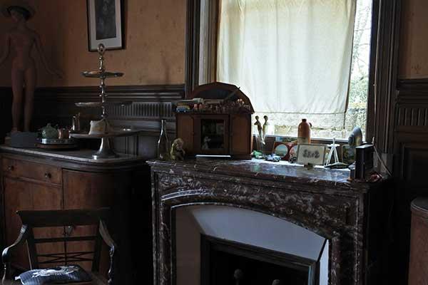 Cheminée salle à manger maison du meunier