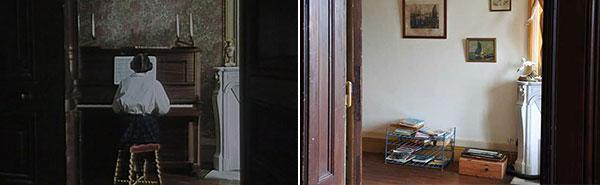Piano salon Maison du Meunier