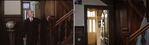 Escalier maison du meunier