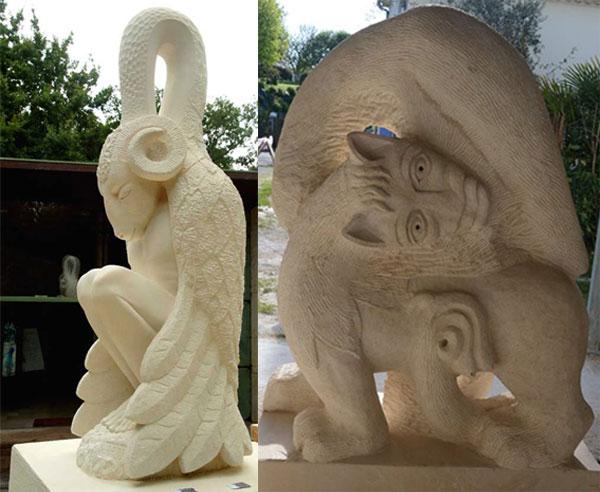 Sculptures Mathieu Harzo